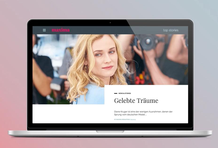 maxima neues online konzept